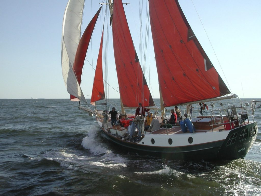 Schooner off Annapolis, MD