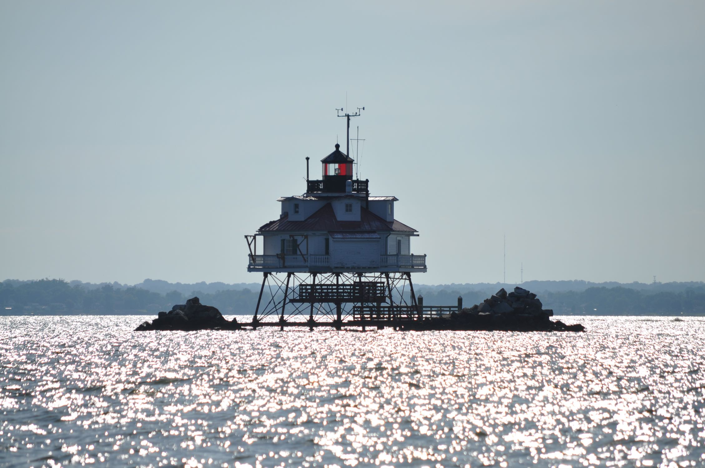 Thomas Point Light, Chesapeake Bay, MD