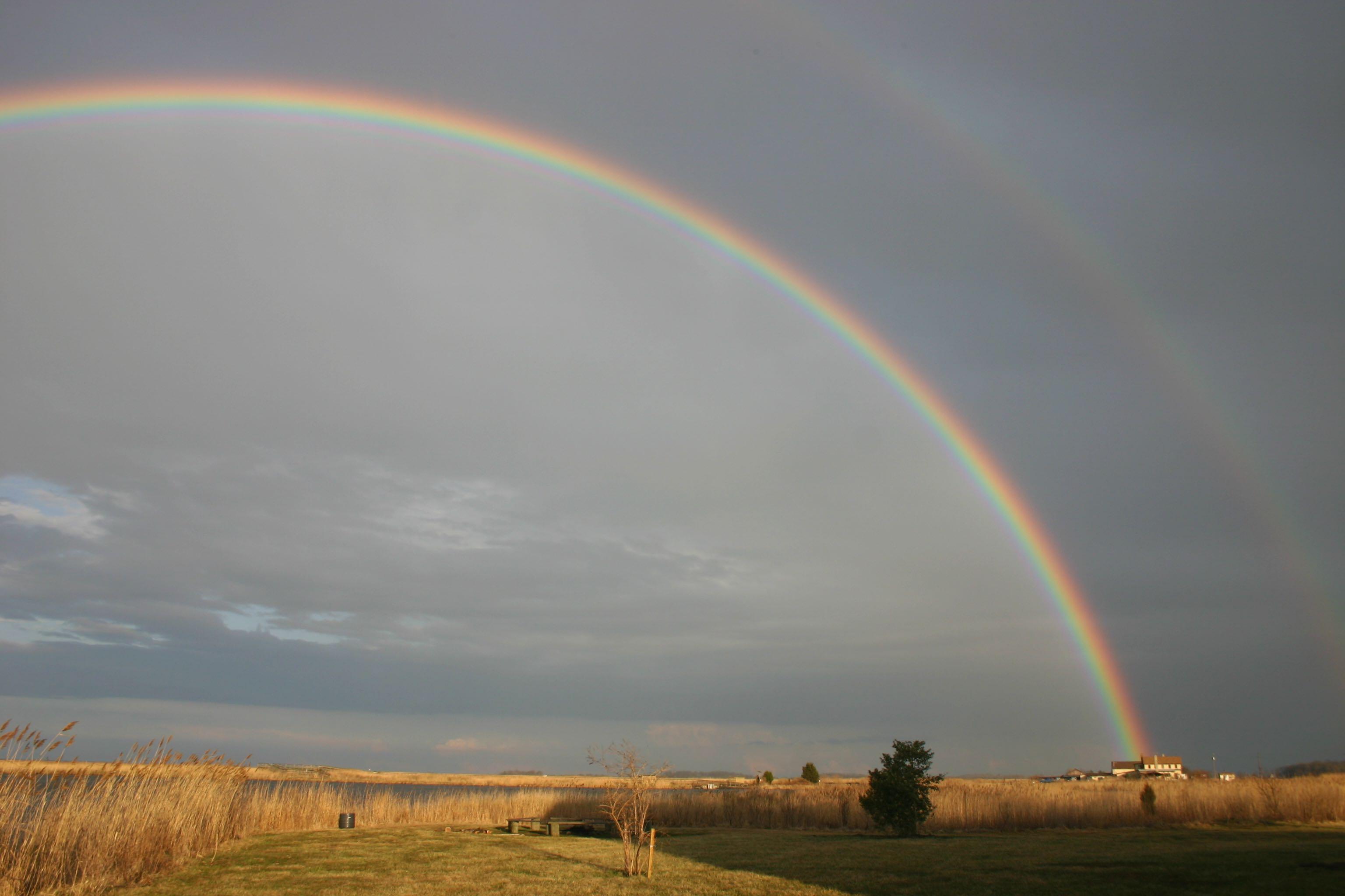 Double Rainbow - Delaware